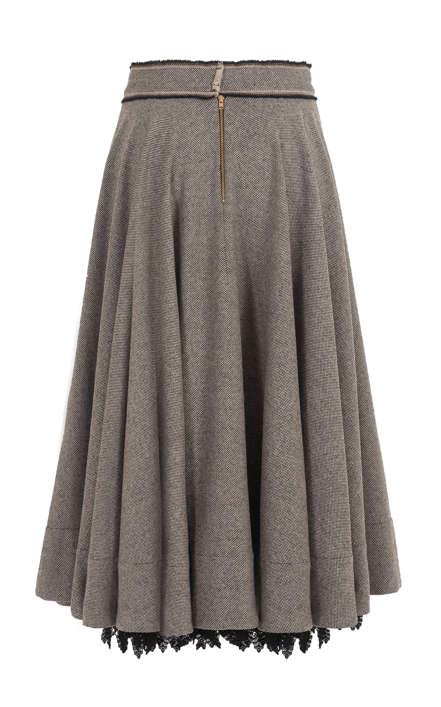 the close circle wool skirt
