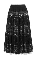 the close circle crochet skirt