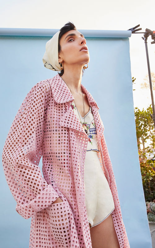 a new tribe of people pink trench