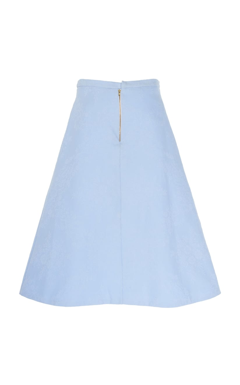 young blood skirt blue