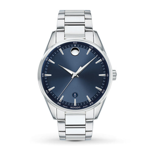 Movado Stratus Blue Watch 0607244