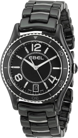Ebel X-1 Black Ceramic  Ladies Watch 1216142