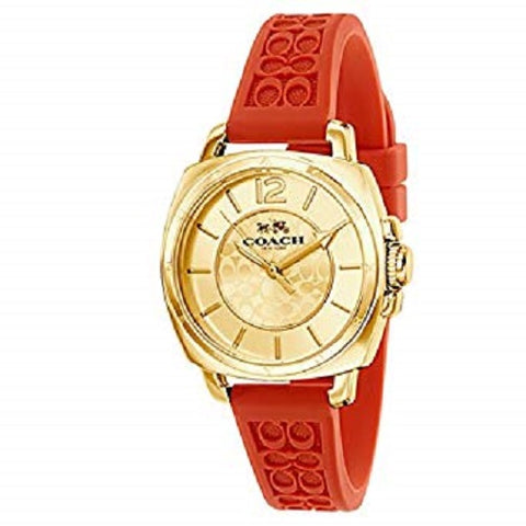 COACH WOMEN'S BOYFRIEND CORAL WATCH 14502094