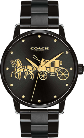 Coach Watch 14502925  Black Grand Collection