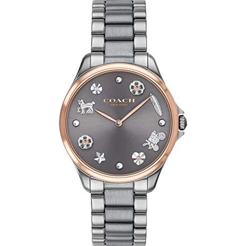 Coach Watch 14503064 Grey