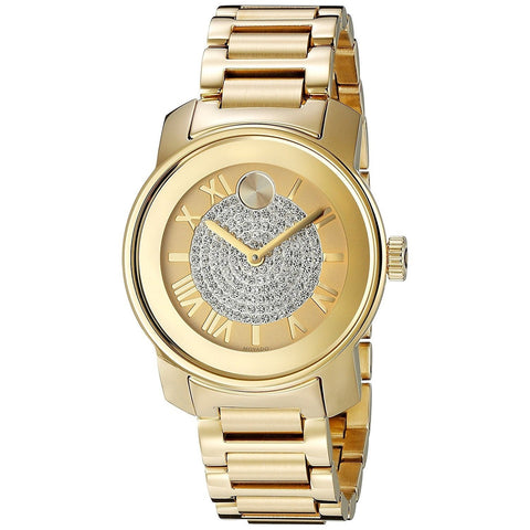 Movado Bold Watch Gold 3600255