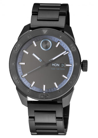 Movado Bold Watch 3600512 All Black men