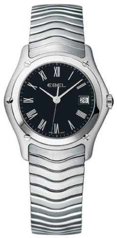 Ebel Classic Womens Black Dial Watch 215267 - Free Shipping -  Promenade Watches