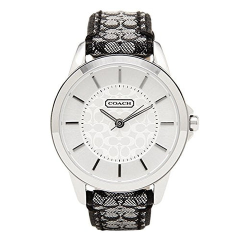Coach Classic Signature Strap Watch 14501524 - Free Shipping -  Promenade Watches
