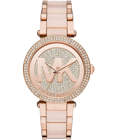 Michael Kors Rose Goldtone Parker Women's Watch MK6176