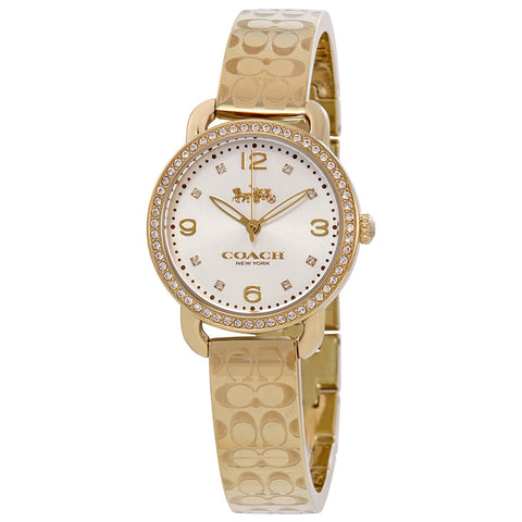 Coach Delancey Watch 14502766 Gold Ladies