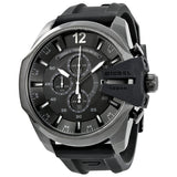 DIESEL Chief Black Dial Black Silicone Men's Chronograph Watch DZ4378 - Free Shipping -  Promenade Watches - 1