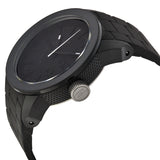DIESEL Color Domination Black Dial Black Silicone Unisex Watch DZ1437 - Free Shipping -  Promenade Watches - 2