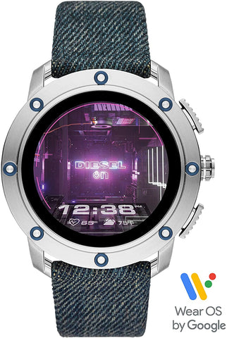 Diesel Axial Smartwatch - Blue Denim DZT2015