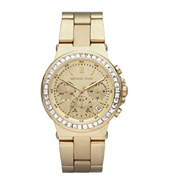 Michael Kors MK5623 Mini Dylan Chrono Gold Tone Bracelet Womens