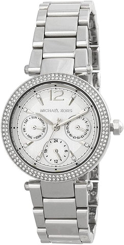 Michael Kors Parker Watch MK6350 Silver Women