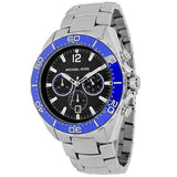 Michael Kors Silver/Blue Men's MK8422