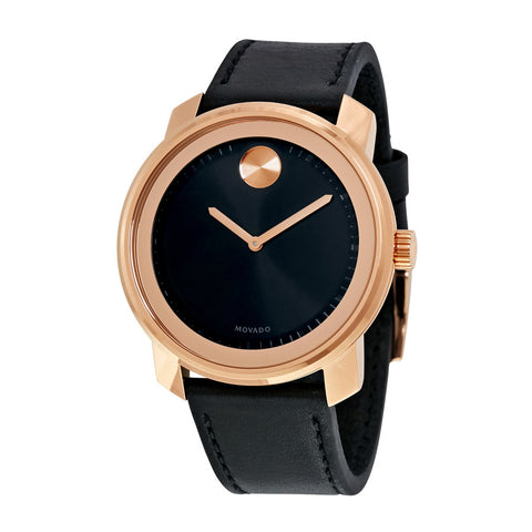 Movado Bold Black Dial Watch 3600376 - Free Shipping -  Promenade Watches - 1