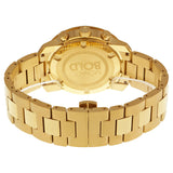 Movado Bold Champagne Dial Yellow Gold Ion-plated Men's Quartz Watch 3600278 - Free Shipping -  Promenade Watches - 3