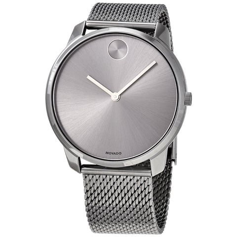 Movado Bold Grey Mesh Men's Watch 3600599