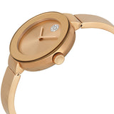 Movado Bold Rose Dial Rose Gold Ion-plated Ladies Watch 3600202 - Free Shipping -  Promenade Watches - 2