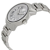 Movado Bold Silver Crystal Pave Dial Stainless Steel Ladies Watch 3600254 - Free Shipping -  Promenade Watches - 2
