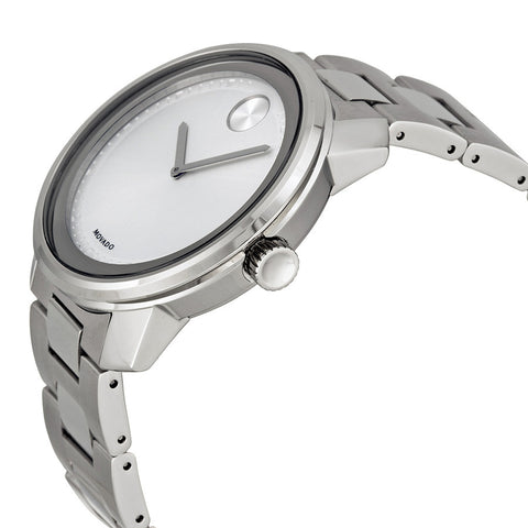 7577b0254 Movado Bold Silver Dial Stainless Steel Men's Watch 3600257 - Free Shipping  - Promenade Watches -