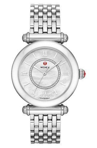 Michele Silver Caber Mww16e000002 Watch