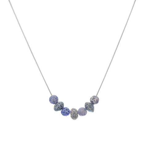 'Forget Me Not' Stone Necklace - Studio Luna