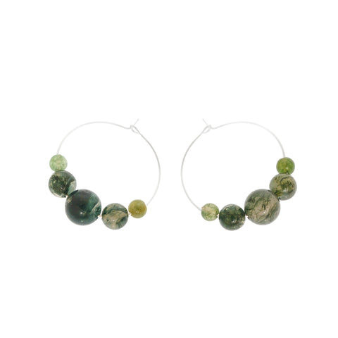'Gaia' Stone Earrings - Studio Luna