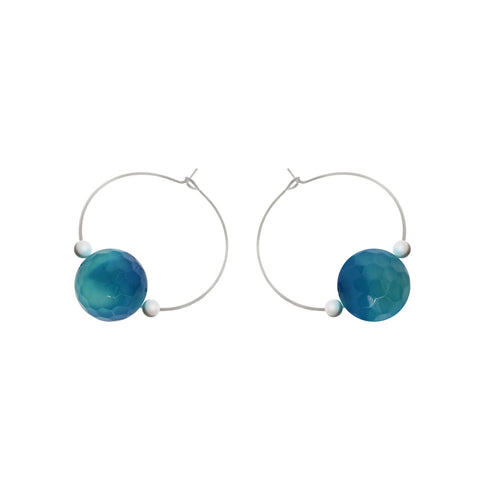 'Alia' Stone Earrings
