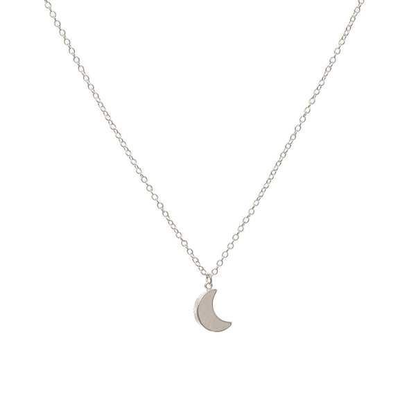 'Crescent Moon' necklace - Studio Luna
