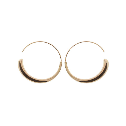 'Sophia' Hoop Earrings - Studio Luna