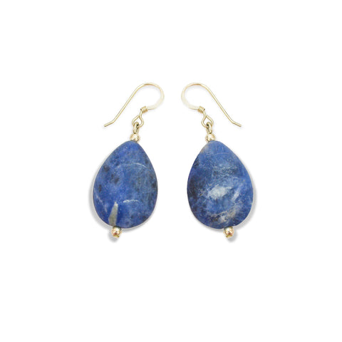 'Indigo' Stone Earrings
