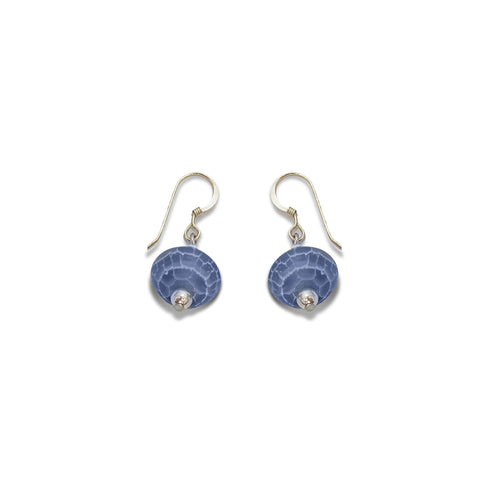 'Lunette' Stone Earrings - Studio Luna