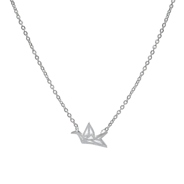 'Origami Crane' Necklace - Studio Luna