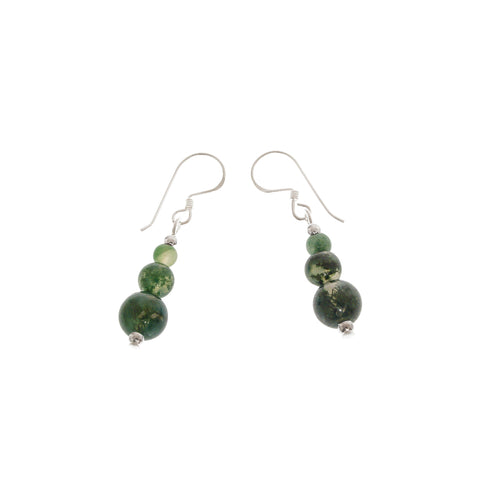 'Nefertiti' Stone Earrings - Studio Luna
