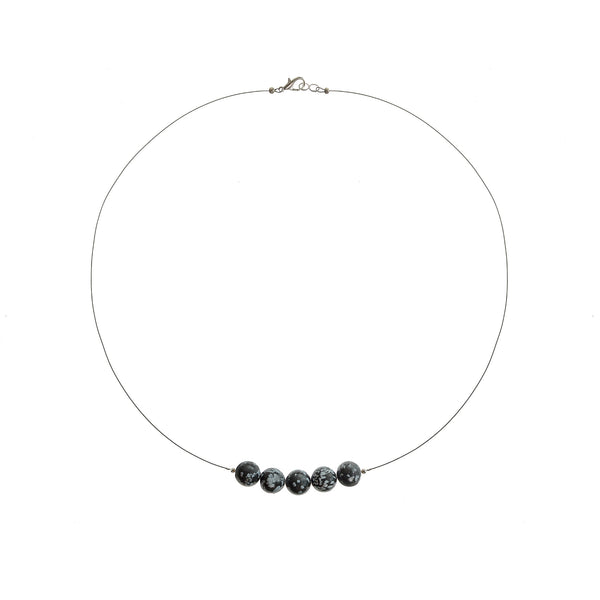 Assisi Stone Necklace - Studio Luna