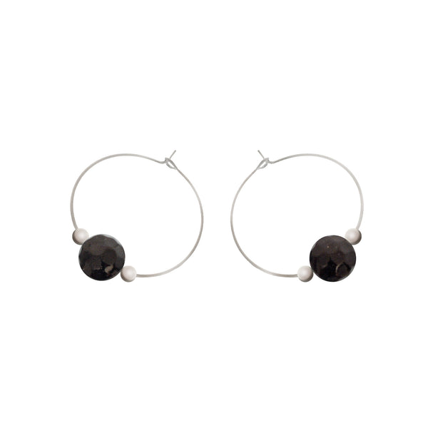 'Bodhi' Stone Earrings - Studio Luna