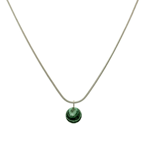 Alia Single Stone Pendant- 52cm - Studio Luna
