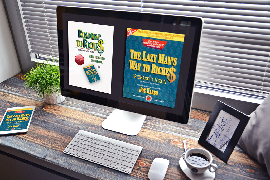 PRE RELEASE OFFER: Lazy Man's Way to Riches 18 Week Online Course; BASE CAMP FOR SUCCESS: Focus Group