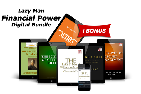 Lazy Man FINANCIAL POWER Digital Bundle