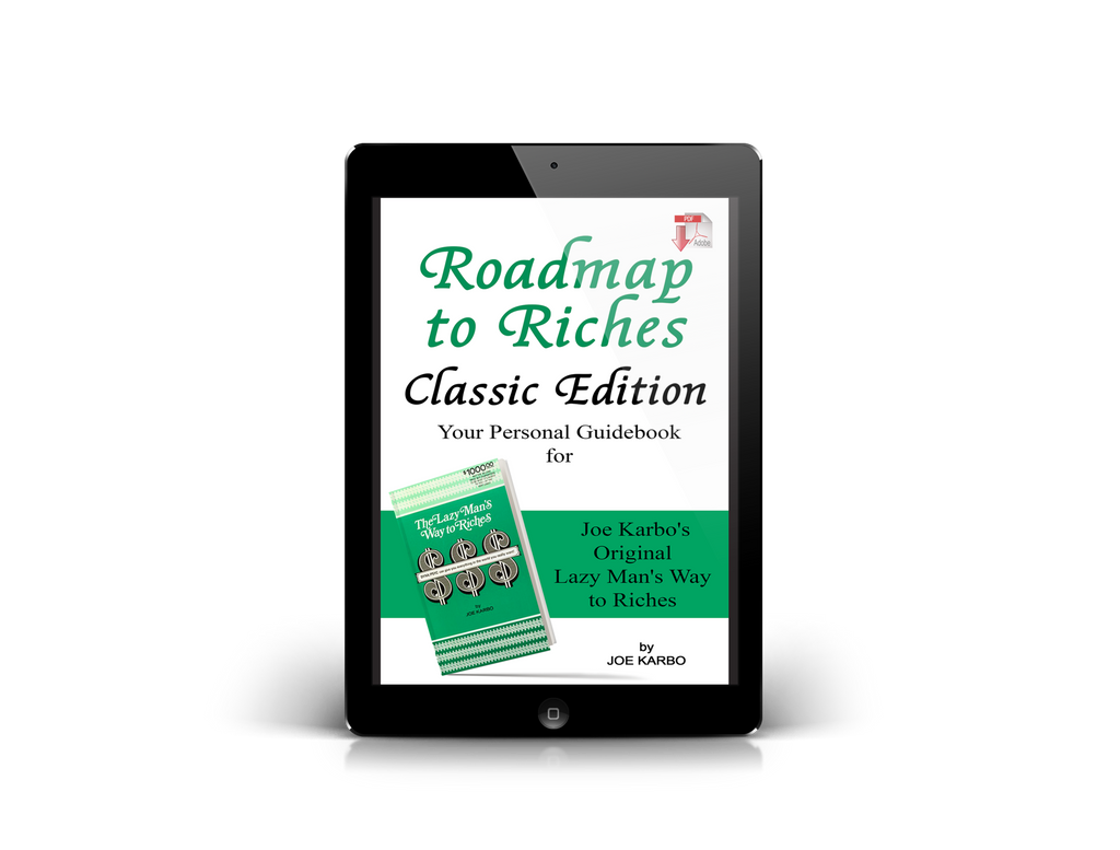 Joe Karbo's Roadmap to Riches Classic Guidebook
