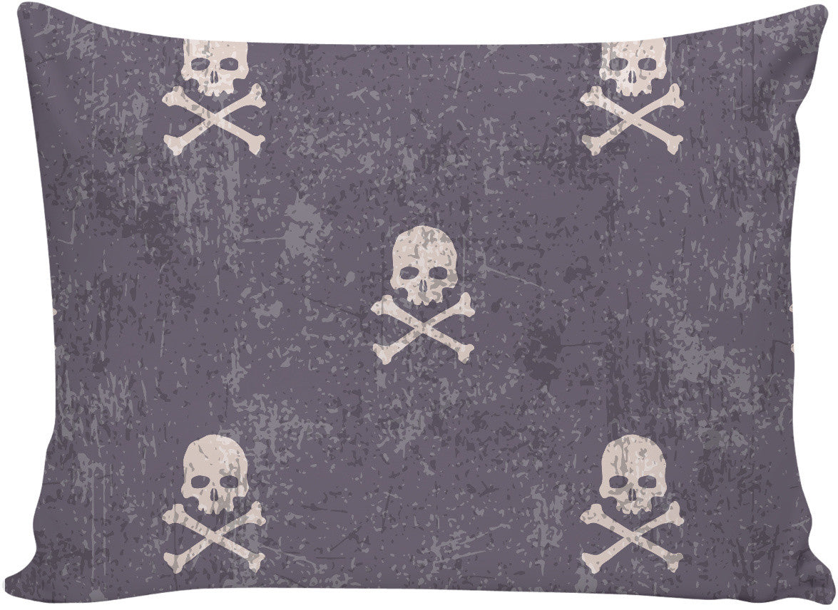 I'm Distressed Skull and Cross Bones Pillow Case