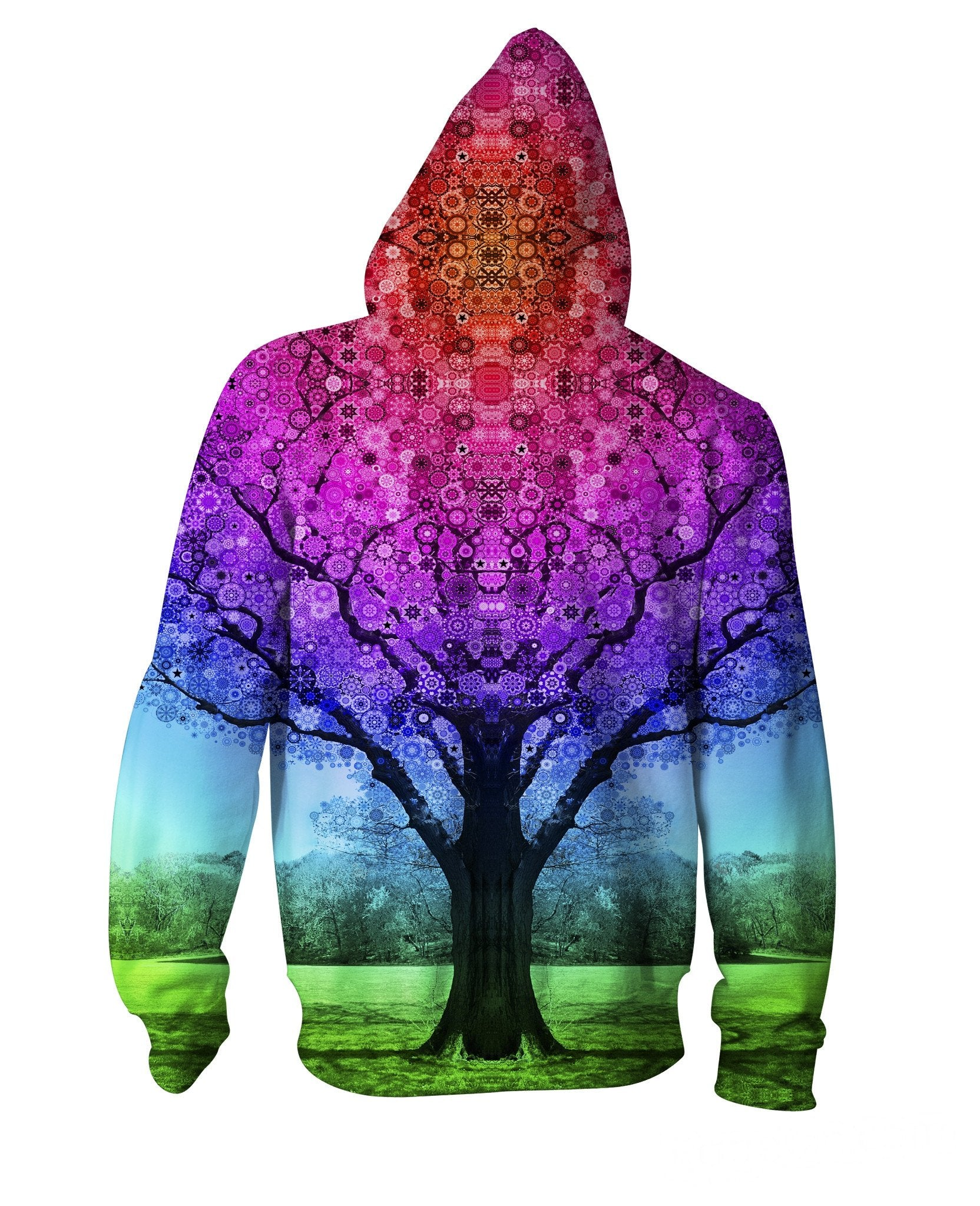Star Tree Zip-Up Hoodie