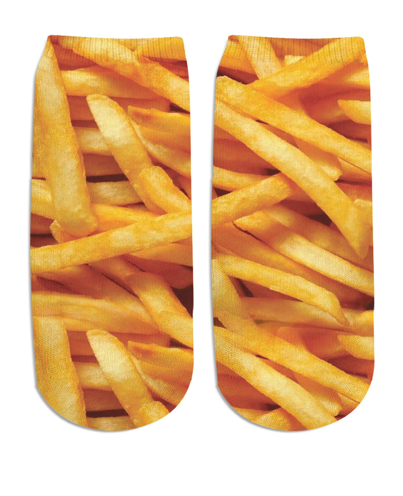 French Fries Ankle Socks