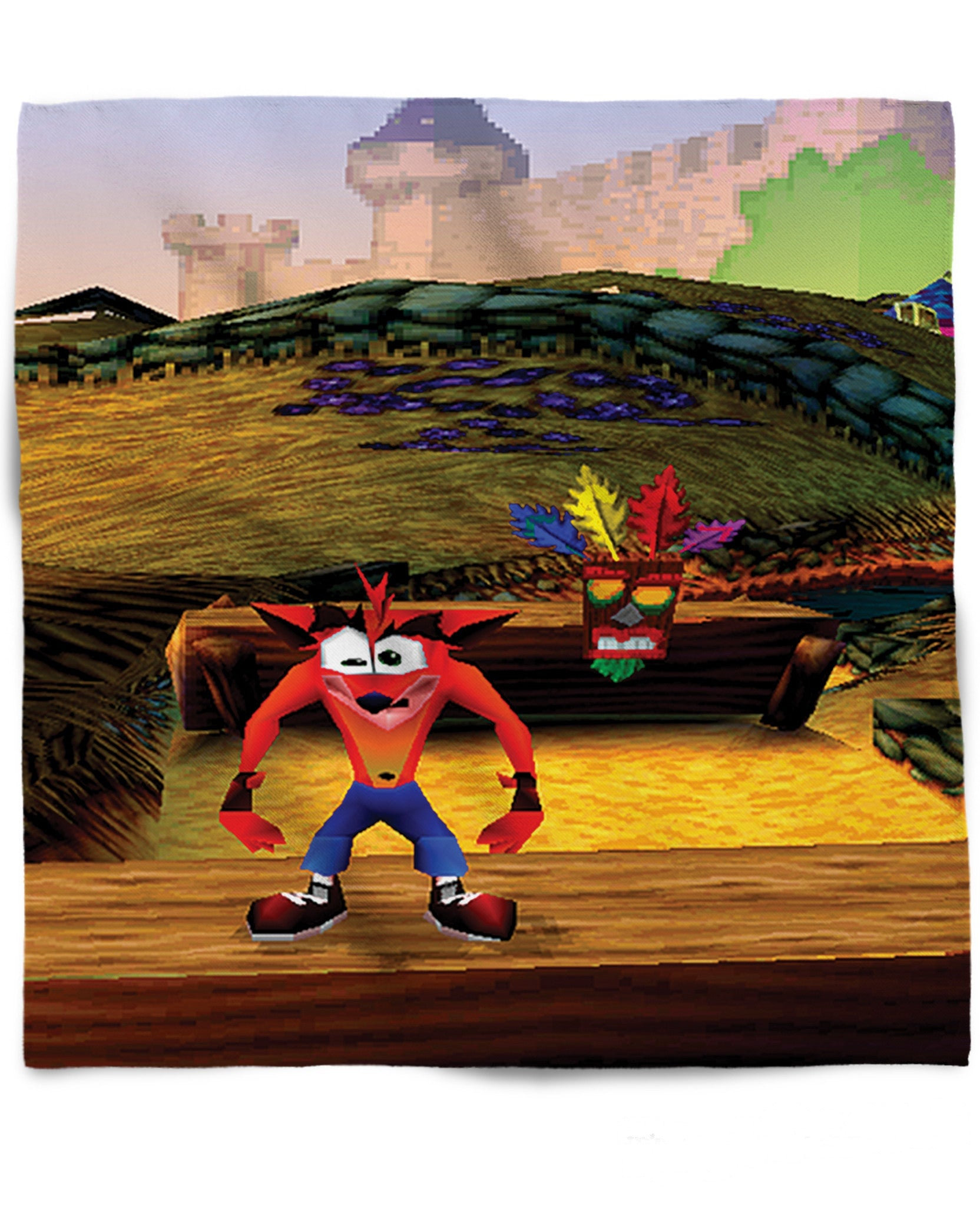 Crash Bandicoot Bandana