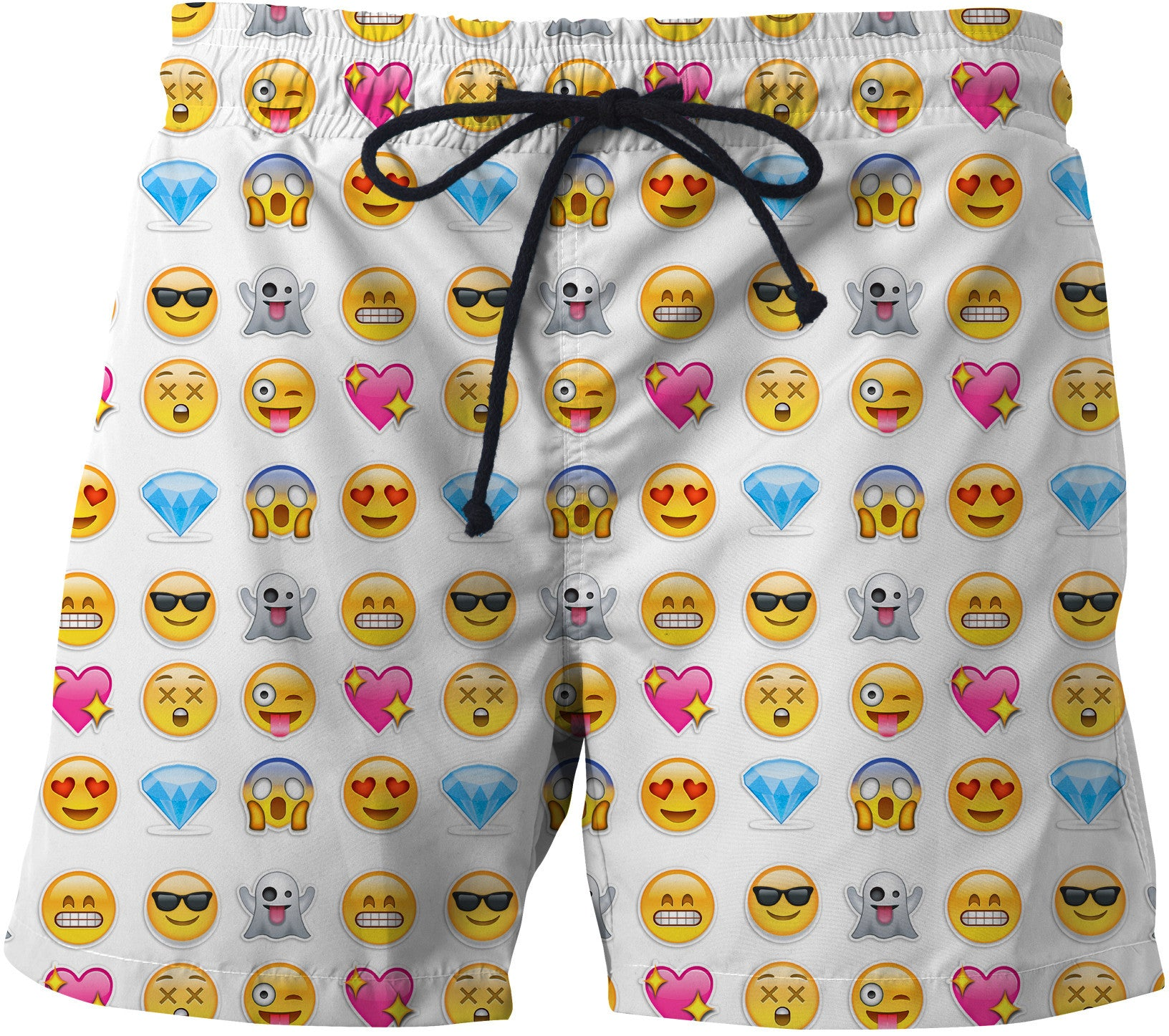 Emoticon Swim Trunks