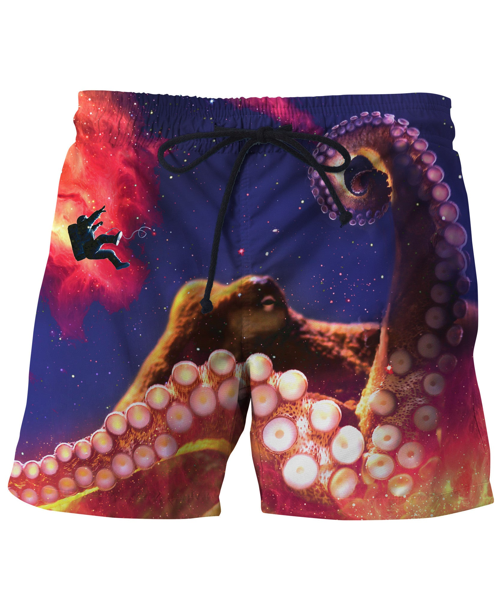 Octopus Space Swim Trunks