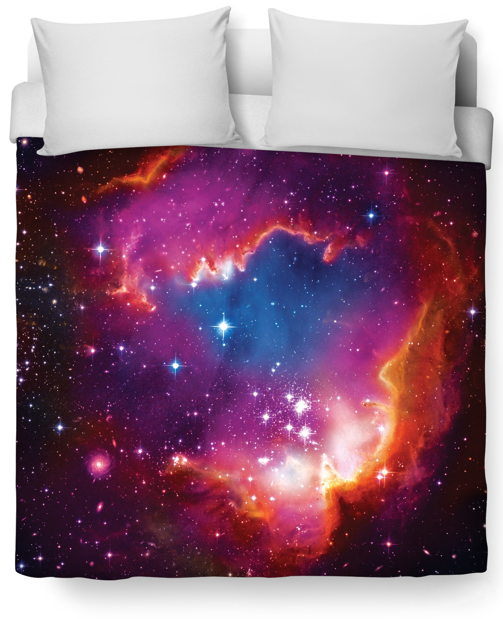 Cosmic Forces Duvet Cover